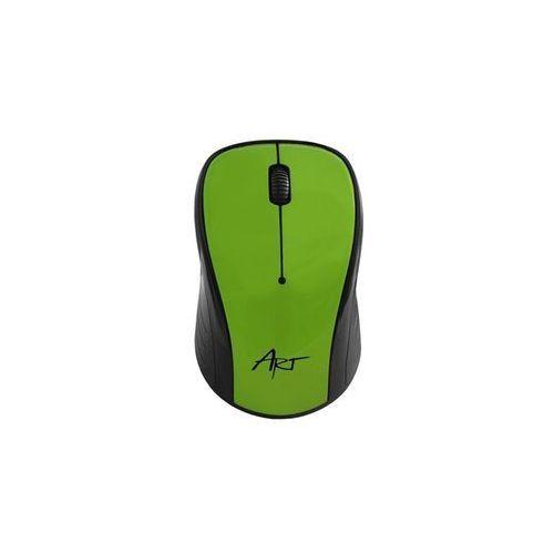 ART Mysz bezprzewodowo-optyczna AM-92F zielona DARMOWA DOSTAWA DO 400 SALONÓW !! (5902115403569)