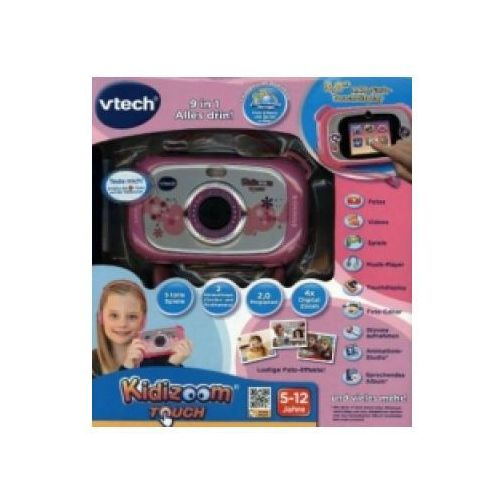 Kidizoom Touch Digitalkamera pink (Gry/Zabawki)