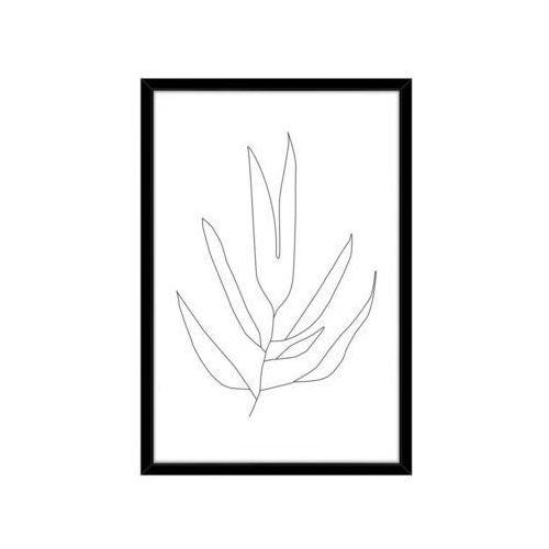Obraz KONTUR LIŚCI 72 x 102 cm