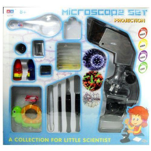 Zabawka SWEDE Mikroskop Set x900