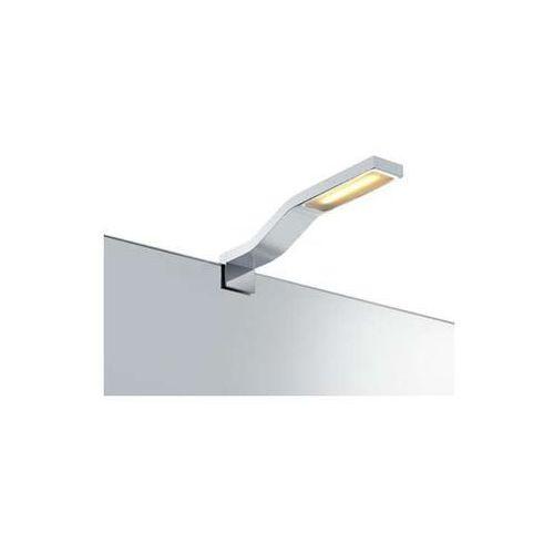 Minimalistyczna LAMPA nad lustro BOURGES 106581 Markslojd metalowa OPRAWA LED 3W wysięgnik łazienkowa IP44 chrom