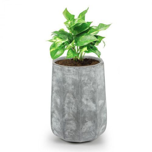 Blumfeldt decaflor doniczka na rośliny 55x70x55cm włókno szklane do wewnątrz/na zewnątrz jasnoszary (4060656101601)
