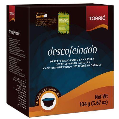 Nespresso kapsułki Torrie descafeinado (kawa bezkofeinowa) kapsułki do dolce gusto – 16 kapsułek