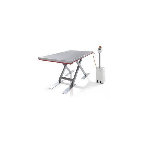 Płaski stół podnośny, seria g,nośność 500 kg, zakres podnoszenia 80 - 850 mm marki Flexlift hubgeräte