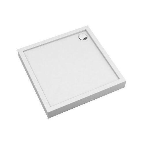 Brodzik prysznicowy kwadratowy na styropianie 90x90 camden 90/k marki Omnires
