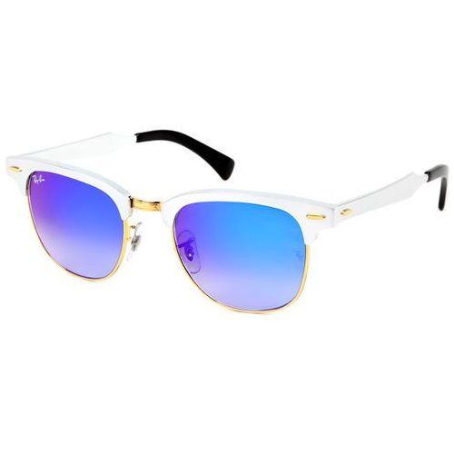 Ray-ban Okulary słoneczne rb3507 clubmaster aluminium flash lenses gradient 137/7q