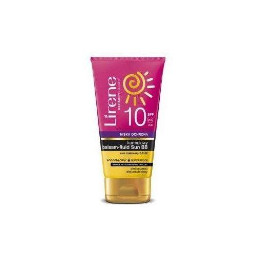 Lirene karmelowy balsam-fluid sun bb spf10 150ml marki Dr irena eris