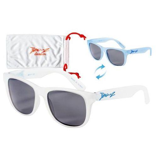 Okulary przeciwsłoneczne dzieci 4-10lat kameleon - white to blue marki Banz