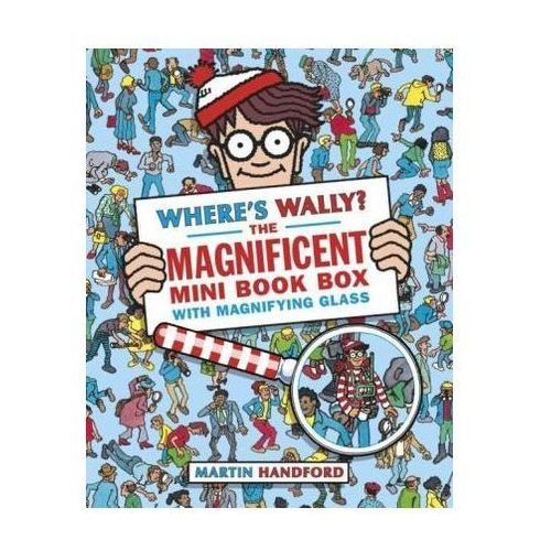 Wheres Wally? The Magnificent Mini Book Box - 5 Books & Magnifying Glass, Walker Books Ltd