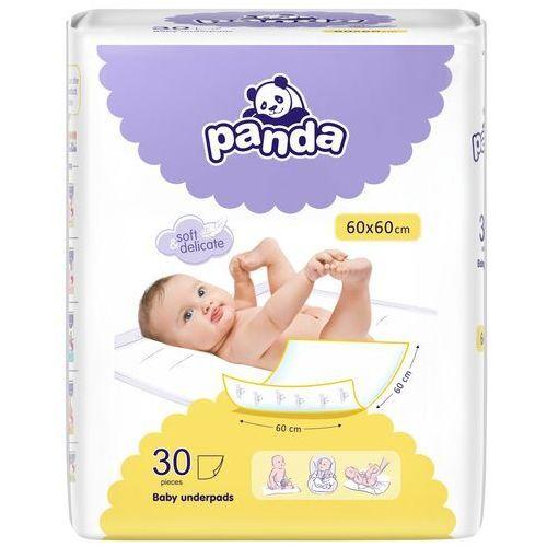 Podkłady do przewijania Panda 60x60cm 60x60cm 30 szt. | Darmowa dostawa od 59 zł