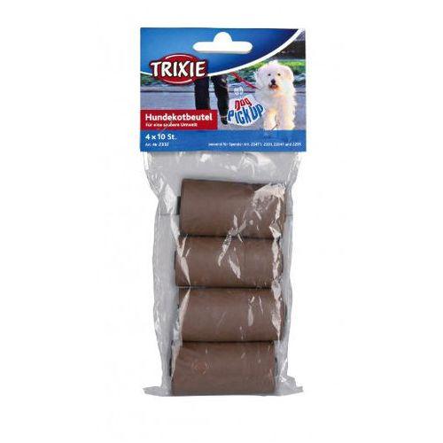 Trixie  woreczki biodegradowalne na ekskrementy - zapas 4x10szt nr kat.23470
