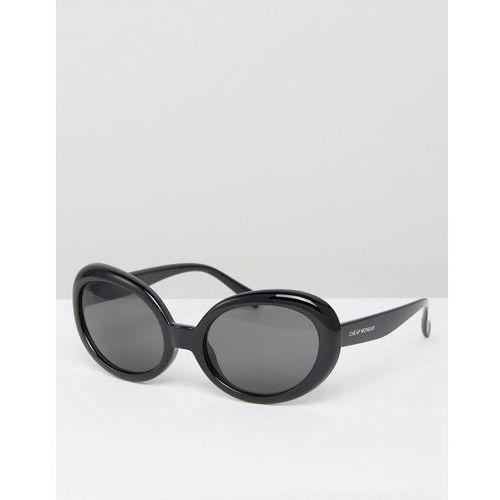 kurt cat eye sunglasses in black - black marki Cheap monday