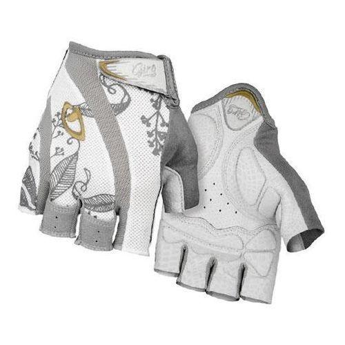 Rękawiczki Giro Monica damskie, biało-złote S