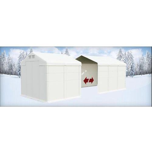 Namiot 6x14x4, Całoroczny namiot przemysłowy, POLAR PLUS/SD 84m2 - 6m x 14m x 4m
