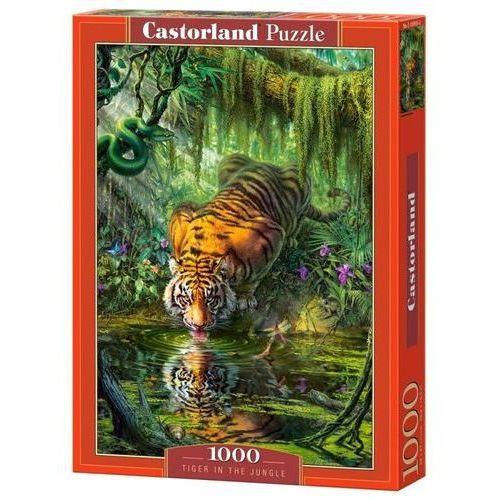 Puzzle 1000 Tiger in the Jungle - Castor OD 24,99zł DARMOWA DOSTAWA KIOSK RUCHU, 5_620402