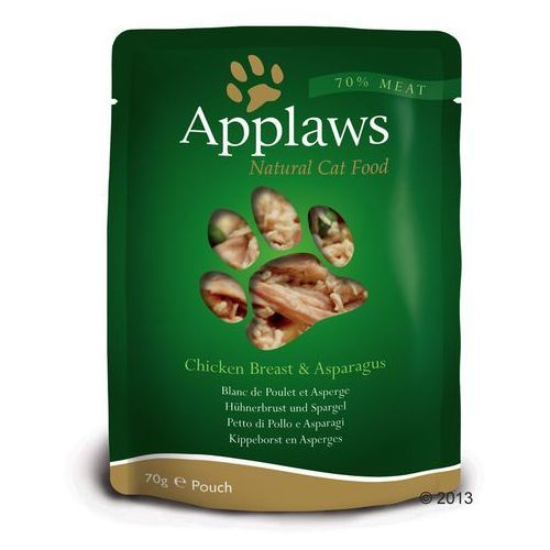 Applaws Selection, 12 x 70 g - Kurczak i dynia