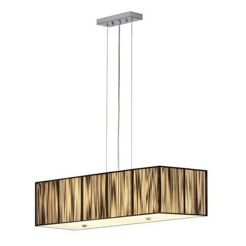 Lampa wisząca zwis lasson pd-1 4x60w e27 czarna 155290 marki Spotline