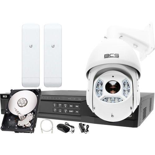 Rejestrator IP BCS BCS-NVR16045ME-II + 1x Kamera 2MPx BCS-SDIP5225-III + Akcesoria, ZM10058