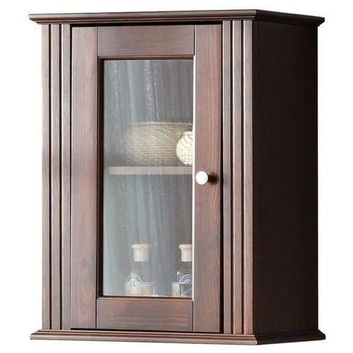 Drewniana szafka łazienkowa górna retro nowe fsc 830 marki Comad