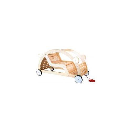 Samochód drewniany dla dzieci bujaczek 2w1 marki Small foot