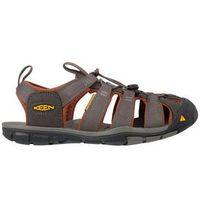 Sandały trekkingowe clearwater - raven/tortoise shell marki Keen