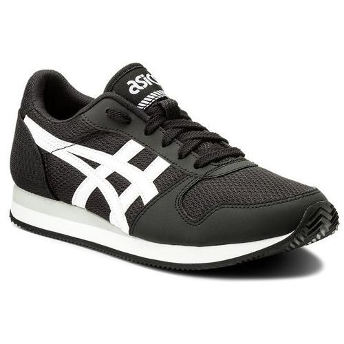 Sneakersy ASICS - TIGER Curreo II HN7A0 Black/White 9001, kolor czarny