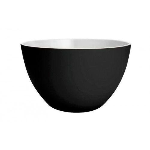 Miseczka dwukolorowa mała, czarno-biała Zak! Design, 0535-5153