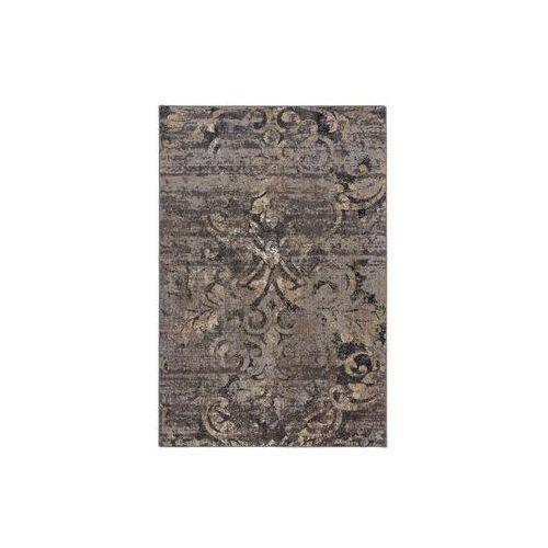 Dywan arelib czarny i beżowy 200 x 300 cm wys. runa 6.83 mm marki Agnella