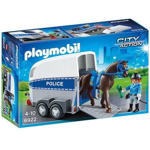 Playmobil CITY ACTION Jednoel. konna z przyczepą 6922