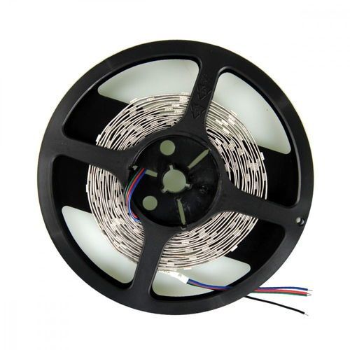Whitenergy whitenergy taśma led 5m ip22 16mm 28.8w/m 12v 120szt/m smd5050 rgb