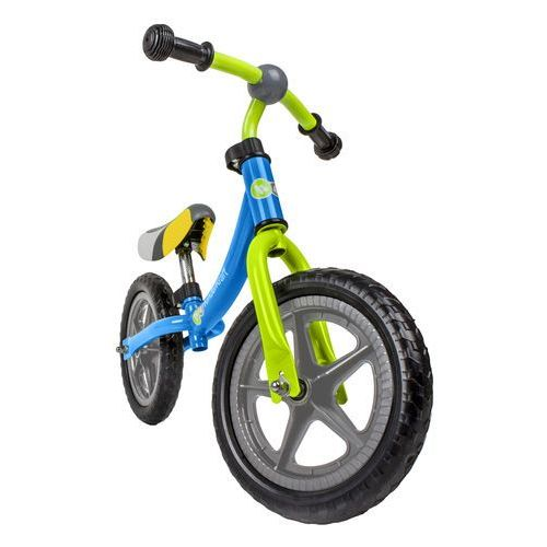 Rowerek biegowy moov niebieski + skorzystaj z 10% rabatu na ten produkt! + zamów z dostawą jutro! + darmowy transport! marki Kinderkraft