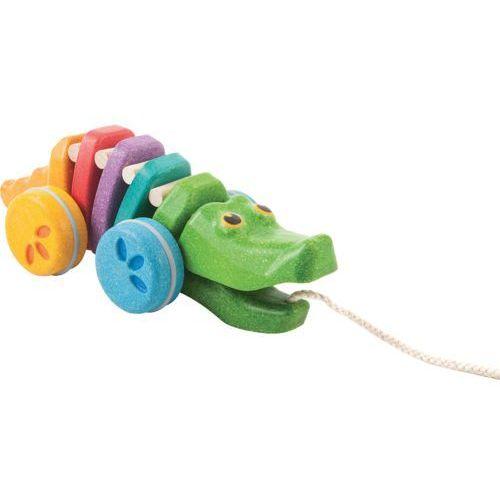 Plan toys Tęczowy krokodyl - . darmowa dostawa do kiosku ruchu od 24,99zł