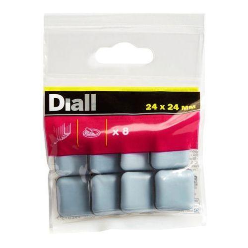 Diall Podkładki samoprzylepne teflonowe 24 x 24 mm 8 szt.