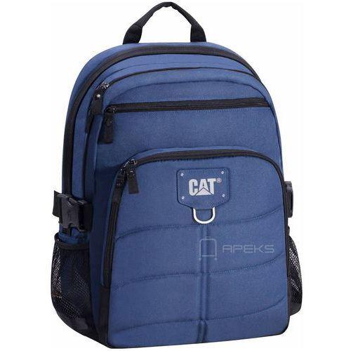 Caterpillar brent plecak na laptop 15,6'' / cat / granatowy - navy blue (5711013045890)