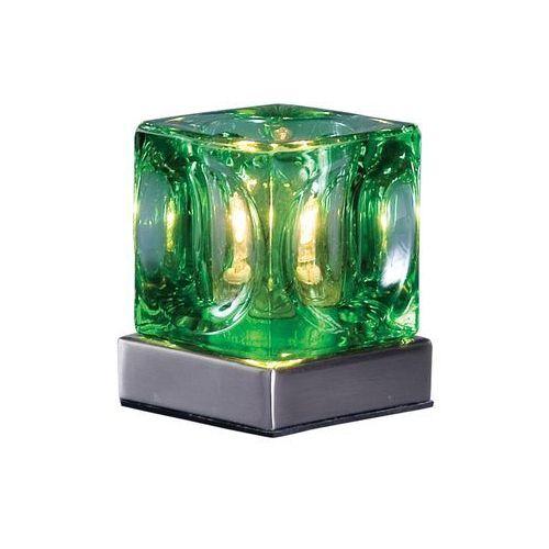 Prezent Lampa stołowa decora 1x20w g9 zielona 505 (8586007085056)