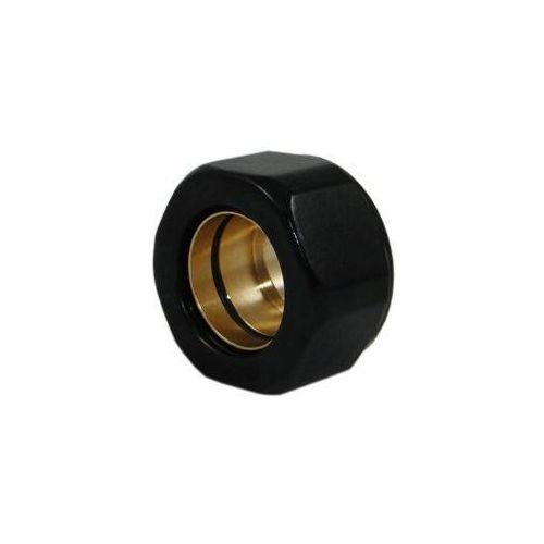 Złączka zaciskowa do rury z miedzi CU GW M22x1,5 x 15mm Schlosser 6025 00002.RAL 9005 Czarna