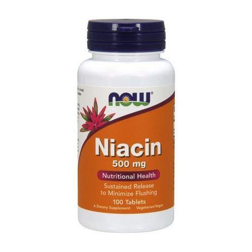 Now Foods Niacin (Niacyna) 500mg 100 tabl. (tabletki)