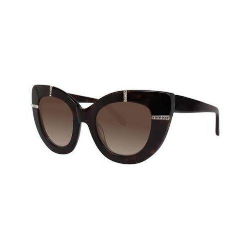 Vera wang Okulary słoneczne taddea tortoise