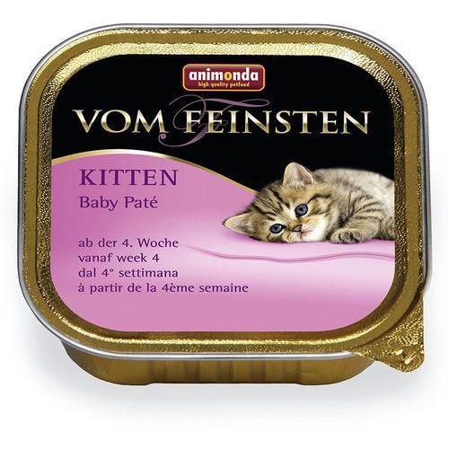 Animonda Vom Feinsten CAT Kitten Baby Pate 100g, 31