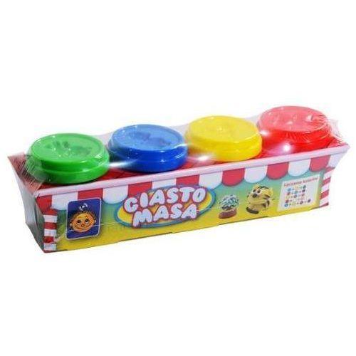 Ciasto-masa Smily play 4 słoiczki