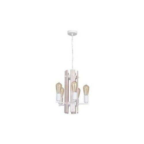 Luminex Żyrandol gera 5xe27/60w/230v biały