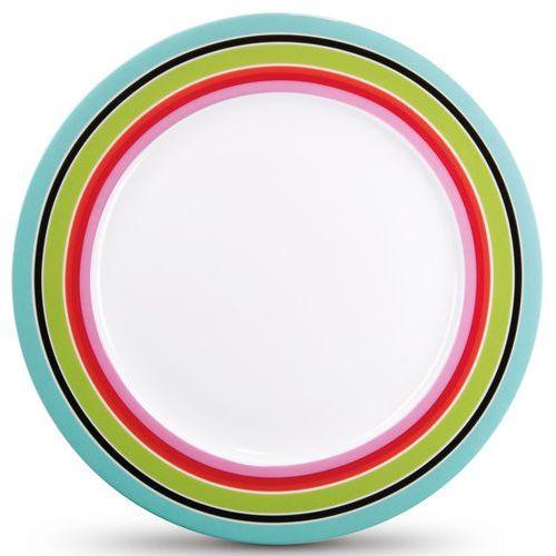 Talerz deserowy na ciasto, kolorowe naczynie do serwowania z porcelany marki Remember
