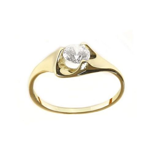 Pierścionek złoty zp.a.222.01 biżuteria damska ze złota pr.585 14 karat marki Saxo