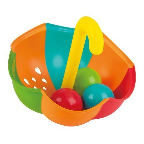 Hape Zabawka do wody kolorowy parasol z piłeczkami E0206, 1_631932