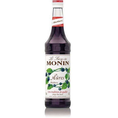 Syrop blackberry  0,7 l - jeżynowy marki Monin