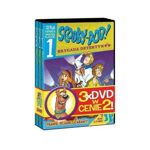 Scooby-Doo 3 Filmy w Cenie 2 (S-D I Brygada Detektywów Części 1-3)(3DVD)