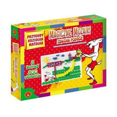 Magiczne mozaiki Przygody Koziołka Matołka Szalona podróż 800 elementów - Alexander (5906018009286)