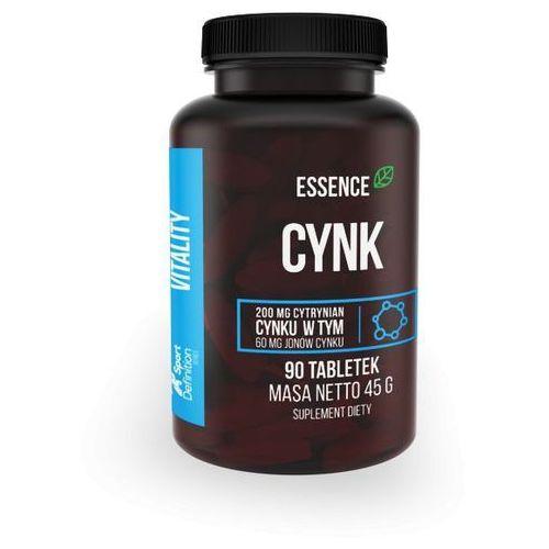 Minerały SPORT DEFINITION Essence Cynk 90 tab Najlepszy produkt