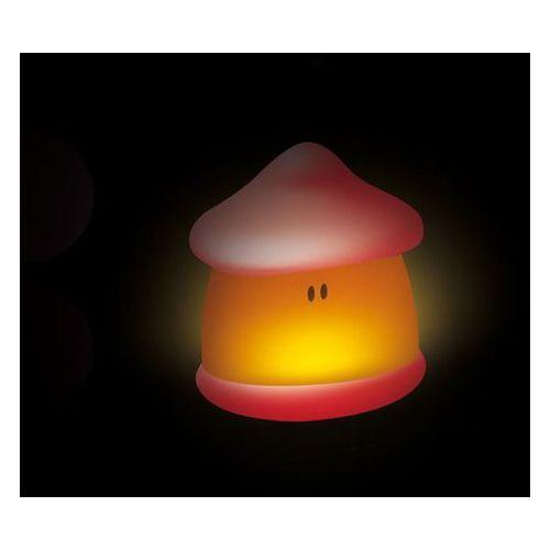 Beaba Lampka nocna led przenośna pixie soft 200h świecenia coral,