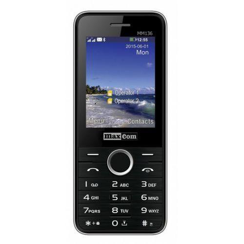 Telefon MAXCOM MM 136 + starter Fakt Mobile Czarny, 1_488616